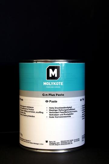 MOLYKOTE G-N plus da 1 kg. Pasta minerale lubrificante